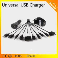 Chargeur universel universel à haute performance pour smartphones utilisé en voiture / maison WF-114