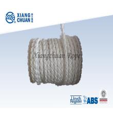 Corda de amarração de polipropileno de 8 fios