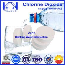Tableta de Dióxido de Cloro y Polvo para el Tratamiento del Agua Potable