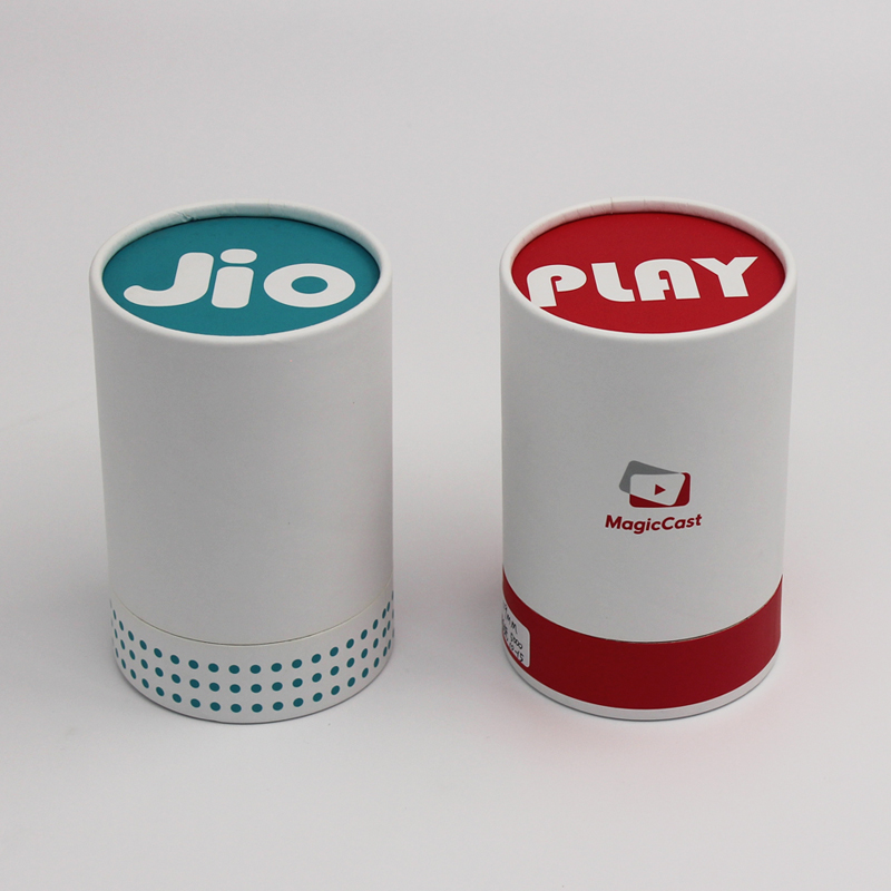 Easy Eco Economical Cardboard Round Cylinder Packaging Gift Box