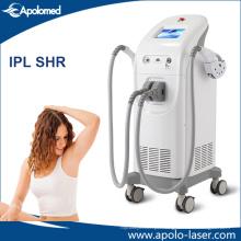 Remoção vertical do cabelo de ISO13485 IPL Shr para o uso do salão de beleza
