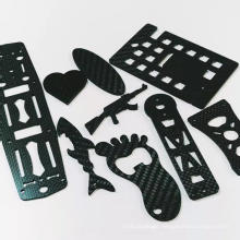 3K carbon fiber plate CNC cutting carbon fiber parts with matte finish