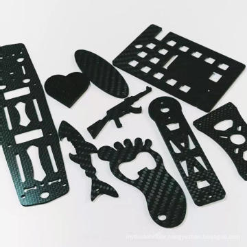 3K carbon fiber plate CNC cutting carbon fiber parts with matte finish