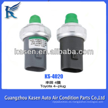 Interruptor de presión del aire acondicionado del coche para TOYOTA 4-enchufe
