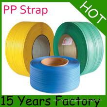 Banda de embalaje PP / Banda de embalaje PP de 9 mm y China