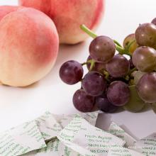 Diferentes paquetes Absorbente de agentes frescos para frutas