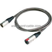 DME Series M XLR to Stereo Jack Socket Microphone Cable