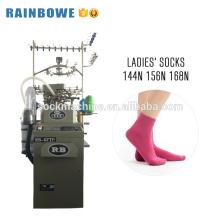 Precio de la máquina para hacer punto del calcetín del equipo de la fábrica de China usado para la fabricación de calcetines de nylon del algodón