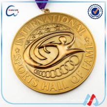 20 ans rubans en métal pour médailles expérience sedex 4p médaille de métal zhongshan fabricant de médaille (HP-120)