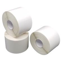 Heat Press Sticker Blank Candle White China Custom Rubber Label