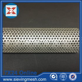 Stainless Steel Perforated Filter Tube