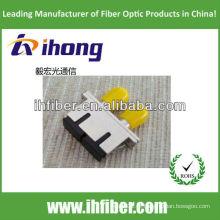 Adaptador de Fibra Óptica Hybrid SC-ST duplex