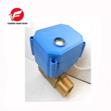 3.6v 5 v 6 v 230 v dn8 dn10 messing ss304 CWX-15N 2nm elektrisches ventil
