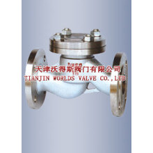 GB Lifting Flanged Check Valve with Flange End (H41H-16/25)