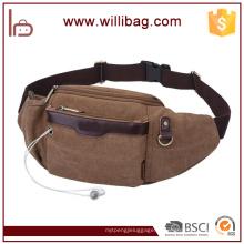 Mala de ferramentas de cintura Casual Canvas Running Waist Bag