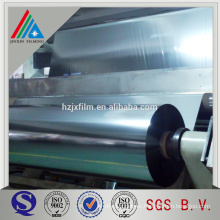 Metallized PET roll film laminating