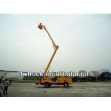 16m Dongfeng camión de plataforma de trabajo aéreo