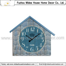 Beautiful Wall Clock with House Shape