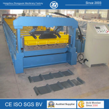 Máquinas de fabricação de placas de telhado de aço
