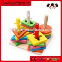 juegos de rompecabezas de madera 3d fábrica de juguetes