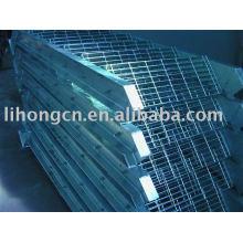 Escalier d'escalier, échelle de grille, échelle d'acier