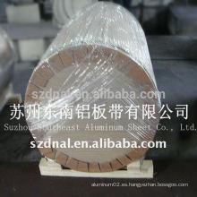 Bobina de aluminio del final del molino 6061t4 / t6 reja alta
