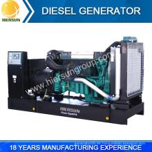 Chinesische Hersteller niedrigen Preis offenen und stille Volvo Diesel-Generator zum Verkauf