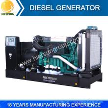 Fabricants chinois à prix bas génératrice diesel volvo ouvert et silencieux à vendre