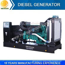 Chinese manufacturers low price open and silent volvo diesel generator for sale