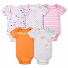 Bebê recém-nascido Onesie Roupa Infantil Bonito Bodysuit Macacão Macacão Playsuit Outfit Roupas de Bebê Romper Menina