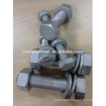 galvanized hex bolt gr8.8 with nut washer High Strength Hex Bolt 8.8