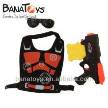914010853 Pistolet à jouet à balle souple pour les enfants avec des lunettes et des armures