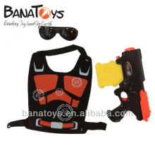 914010853 Soft bullet toy gun for kids with glasses and body armor