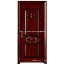 Высокое качество роскошные деревянные двери MO-312S твердых древесины двери из Китая Топ 10