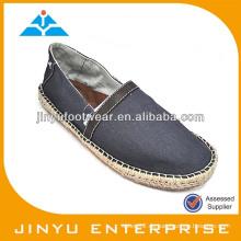 Modenschau Männer Espadrille Schuhe