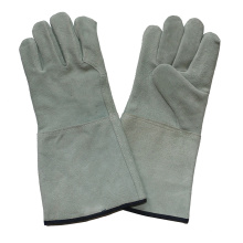 Ab Grade Kuh Split Leder Handschutz Industrielle Schweißer Handschuhe