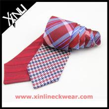 Les cadeaux populaires des hommes cravates en soie cravate double face chinoise