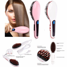 Ceramic Brush LCD Screen Electric Straightening Brush