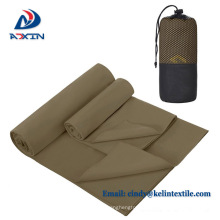 Suede microfiber towel for sport