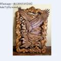 Colgante de pared hecho a mano tradicional Paneles de madera tallados Paneles de madera maciza