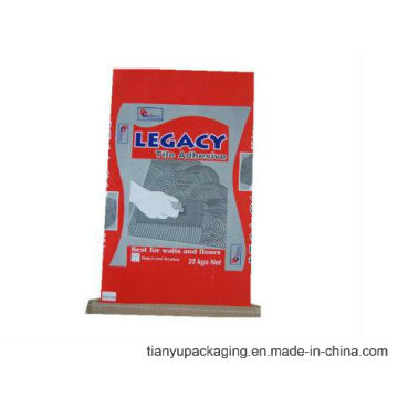 Paper Sack with Stitched Bottom for Packing Animal Feed or Powder