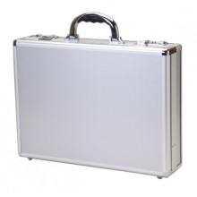 Aluminium Attache Case mit Dokumenten Taschen