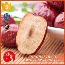 Правильное качество свежих фруктов со свежими фруктами jujube