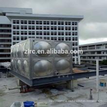 tanque de agua del panel modular del acero inoxidable del precio competitivo / tanques de almacenamiento del agua del acero inoxidable