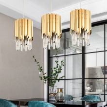 New luxury modern gold crystal chandelier for hotel