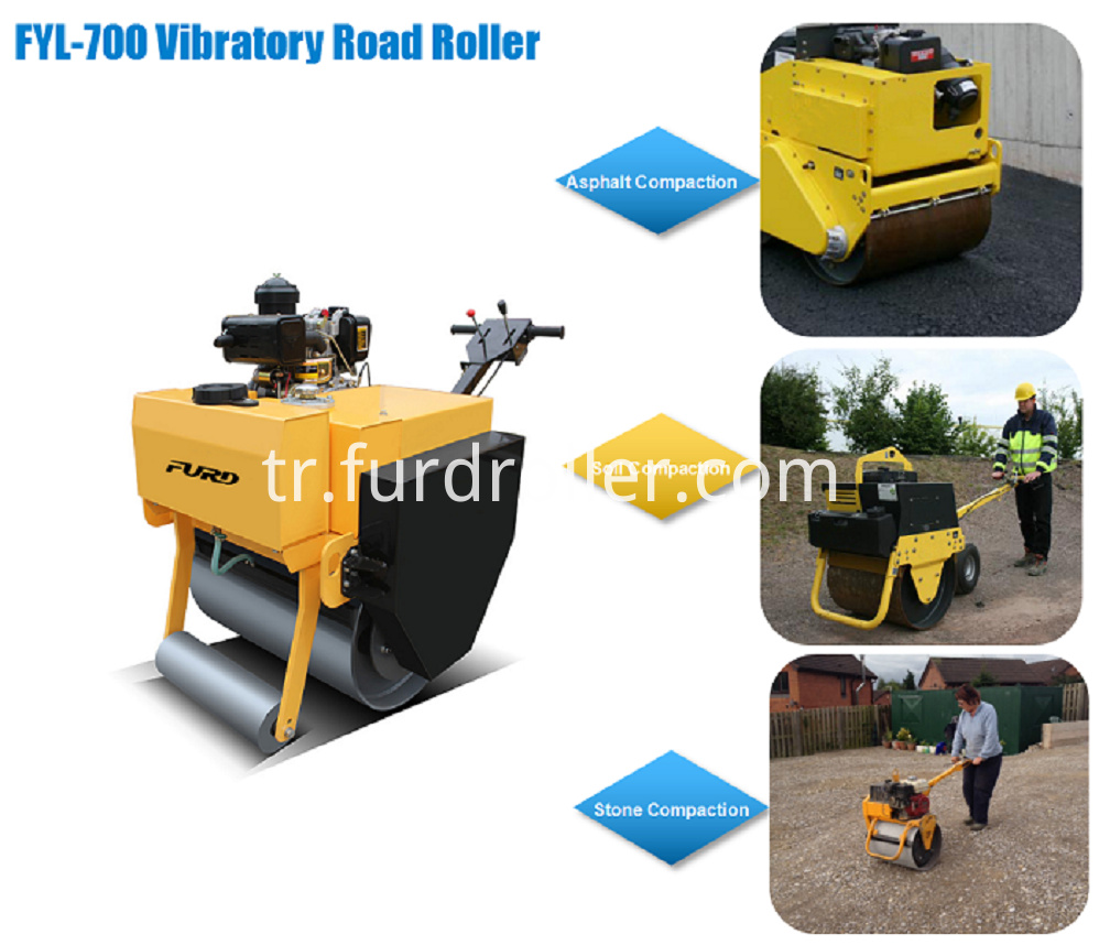 Smooth Wheel Roller Machine