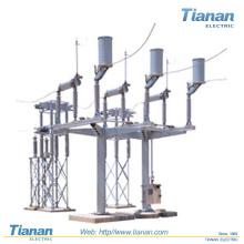 Interrupteur de déconnexion externe / haute tension / pour les banques de condensateurs détournés