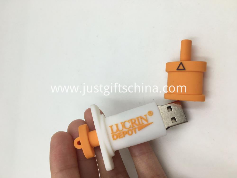 Syringe Shaped Flash Drives