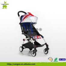 600D Polyester Alliage d'aluminium poussette de bébé de luxe avec promenade rapide style Europe