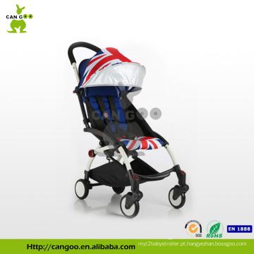600D poliester carrinhos de bebê de luxo de liga de alumínio com estilo strollre Europa rápida liberação
